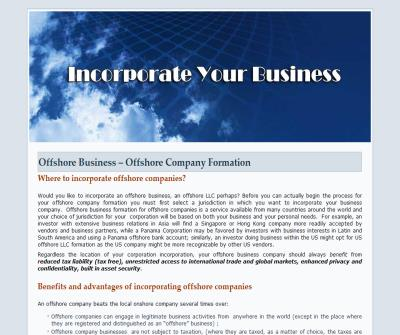 Offshore Corporation Formation
