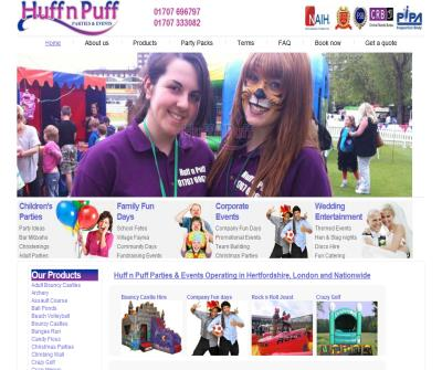 Huff n Puff Bouncy Castles and Events