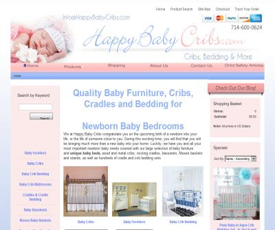 Happy Baby Cribs - Unique Baby Furniture and Crib Bedding