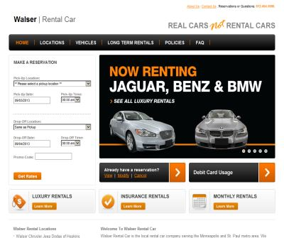 Walser Rental Car