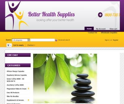 Top Quality Weight Management Products | Personal Health Care Products - Better Health Supplies