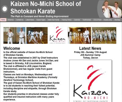 Kaizen No-Michi School of Shotokan Karate