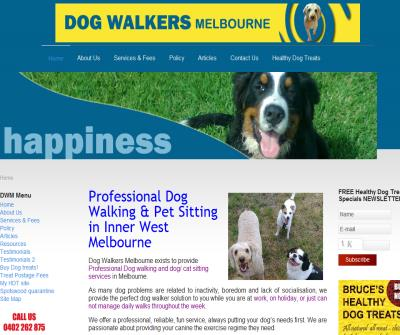 Dog Walking Melbourne & pet sitters:  Williamstown, Newport, Altona North, Spotswood, Yarraville