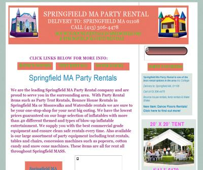 Springfield Ma Party Rental