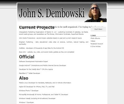 Personal website of John S. Dembowski