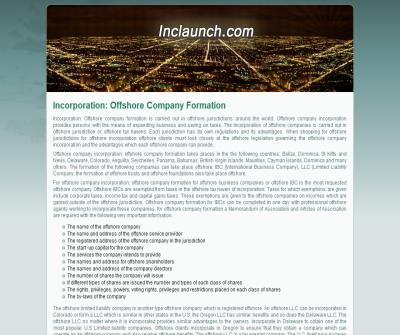 Offshore Company Incorporation Online