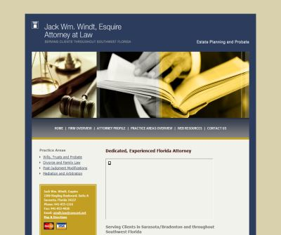 Jack William Windt, Attorney a