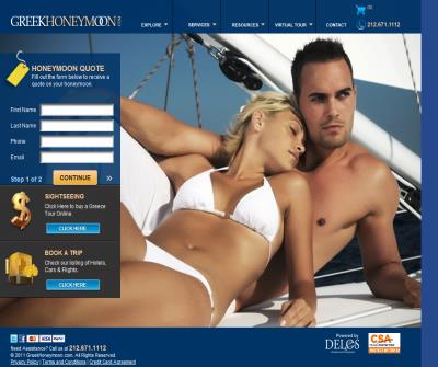 Greek Honeymoon Packages & Greece Tours
