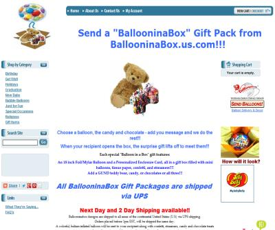 Birthday Gifts Shipped Nationwide under $30 Balloon in a Box