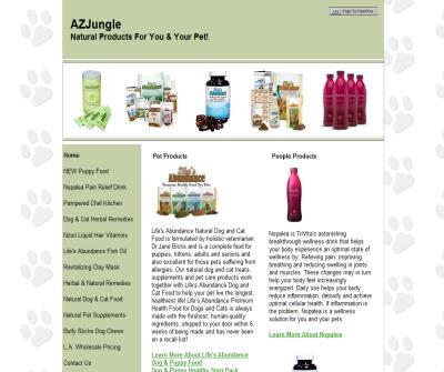 AZJungle's Health Products For People & Pets