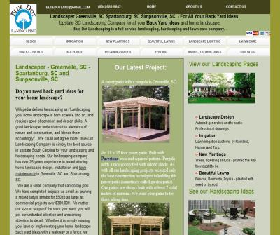 Landscaper, landscaping company for your back yard ideas - Blue Dot Landscaping