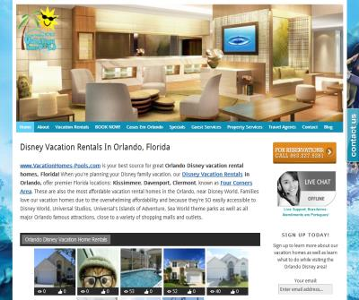 Orlando Disney Area Vacation Rental Homes with Private Pool