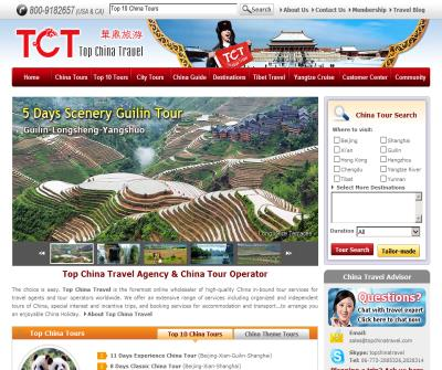 Top China Travel, China Tours, China Travel Agency