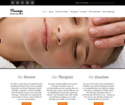 Mobile Massage Gold Coast, Brisbane, Australia