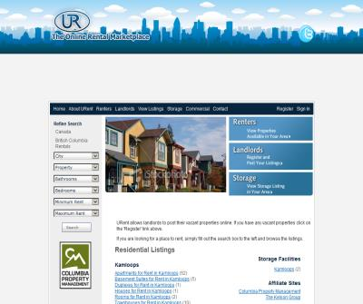 uRent.ca Your #1 Canadian Rental Iistings Site