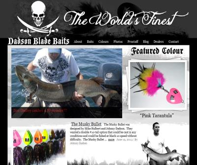 Dadson Blade Baits Musky Bucktails
