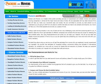 Packers and Movers ,Packers Movers