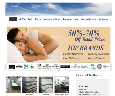 Mattress Liquidators Mattress Miami