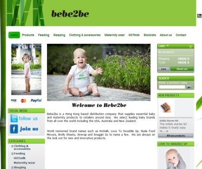 Bamboo babywear and feeding accessories