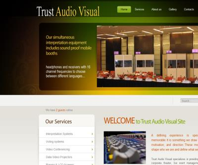 Audio visual services