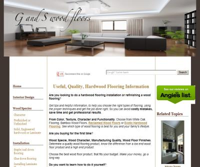 G and S woodfloors.com