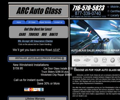 ARC Auto Glass Replacement & Car Windshield Repair/Buffalo NY