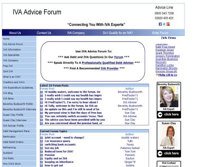 IVA Advice Forum