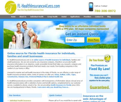 Florida Health Insurance Quotes