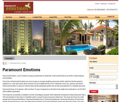 Paramount Emotions Noida Extension | Call 9953518822 , 9718337727 few flats available