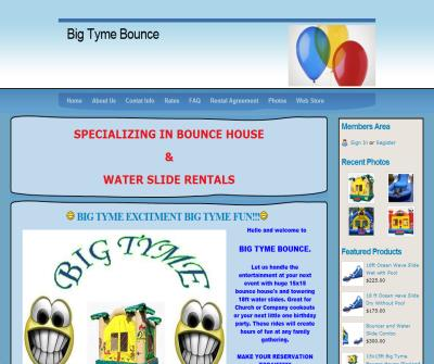 BIG TYME BOUNCE RENTALS