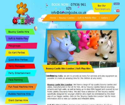 Dancing Cubs Children's Party Entertainment & Bouncy Castle Hire