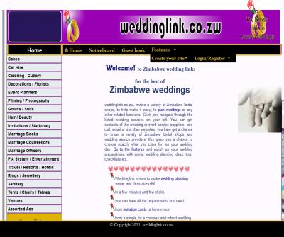 weddinglink.co.zw