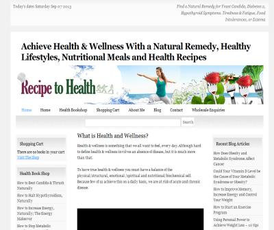 Treating Health Problems with Natural Solutions & Dietary Interventions