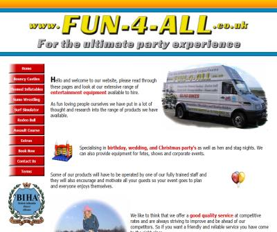 Bouncy castle hire uk