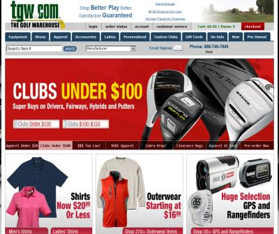 TGW.com - Golf Equipment Superstore