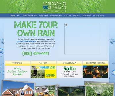 Lawn Sprinklers Grand Rapids