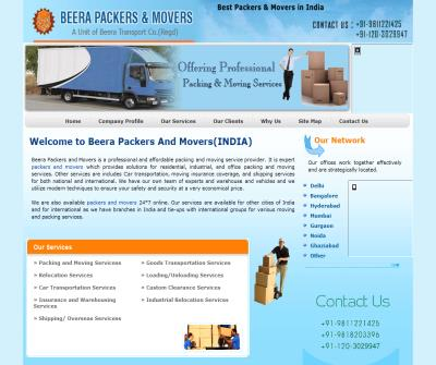 Beera Packers & Movers--9811221425