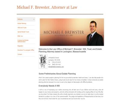 Michael F. Brewster Attorney at Law