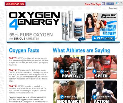 Powerful Workout Aid; RECREATIONAL OXYGEN IS HERE!