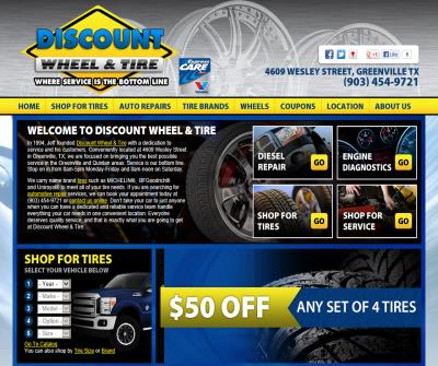 Discount Wheel And Tire