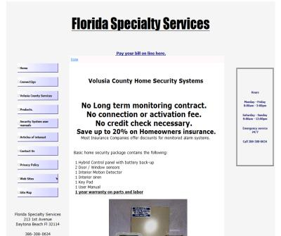 Volusia County Home Security systems