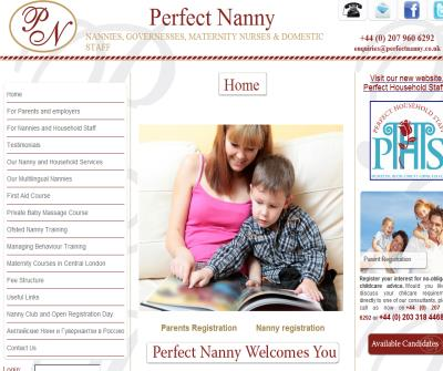 The Perfect Nanny Agency London