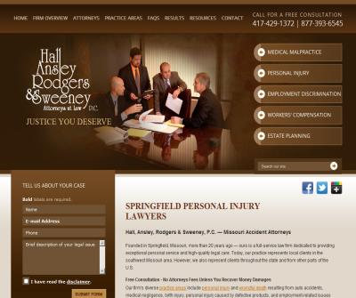 Hall Ansley Rodgers & Sweeney, P.C. Attorneys at Law