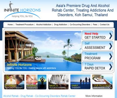 Alcohol Drug Rehab Center Infinite Horizons Samui Thailand