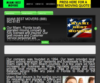 Miami Best Local Movers Co.