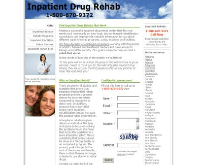 Successful Inpatient Alcohol And Drug Addiction Rehab
