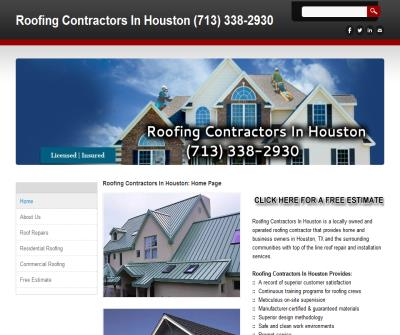 Roofing Contractors in Houston