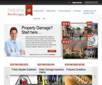 Water and Fire Damage Adjusters