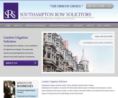Southampton Row Solicitors