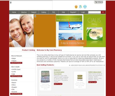 Online Pharmacy - My Care Pharmacy